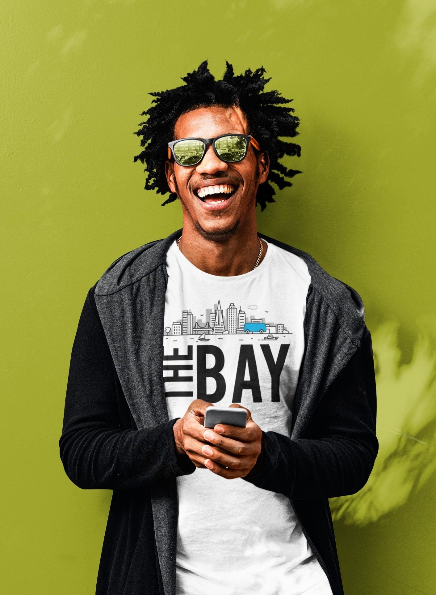 Lava MaeX THE BAY T-SHIRT - Beats 4 Hope