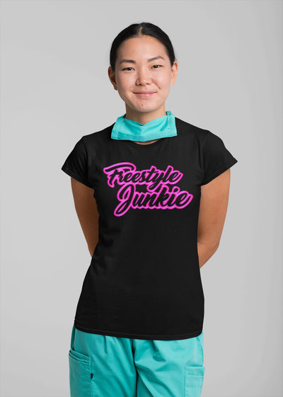 FREESTYLE JUNKIE PINK Women's T-Shirt - Beats 4 Hope
