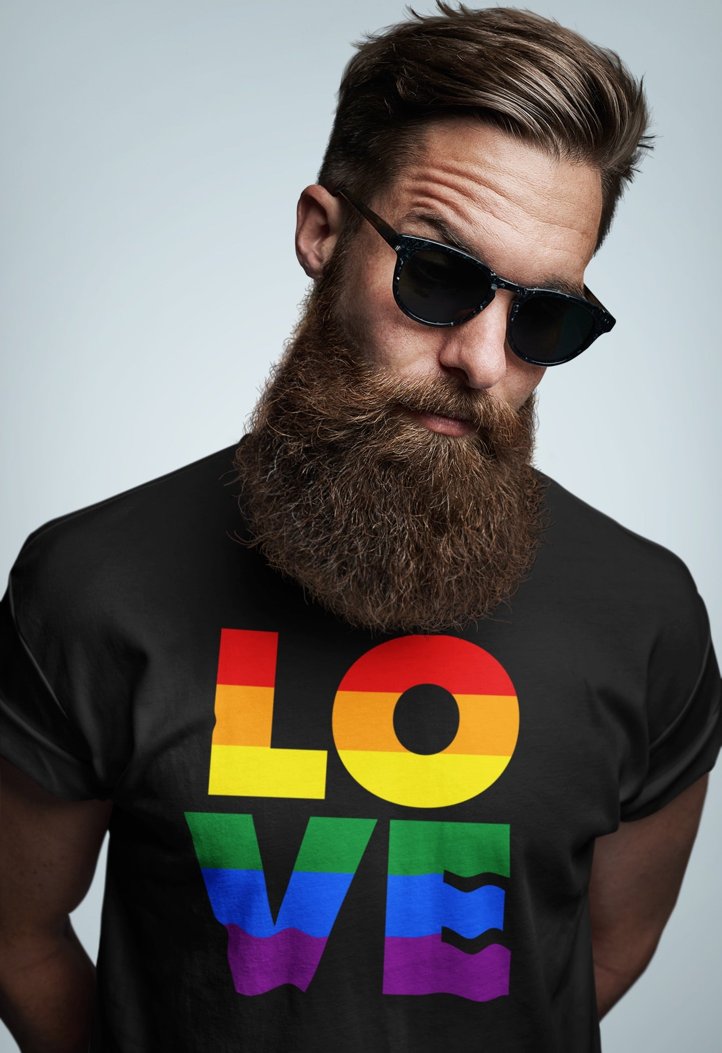COLORFUL LOVE Men's T-Shirt
