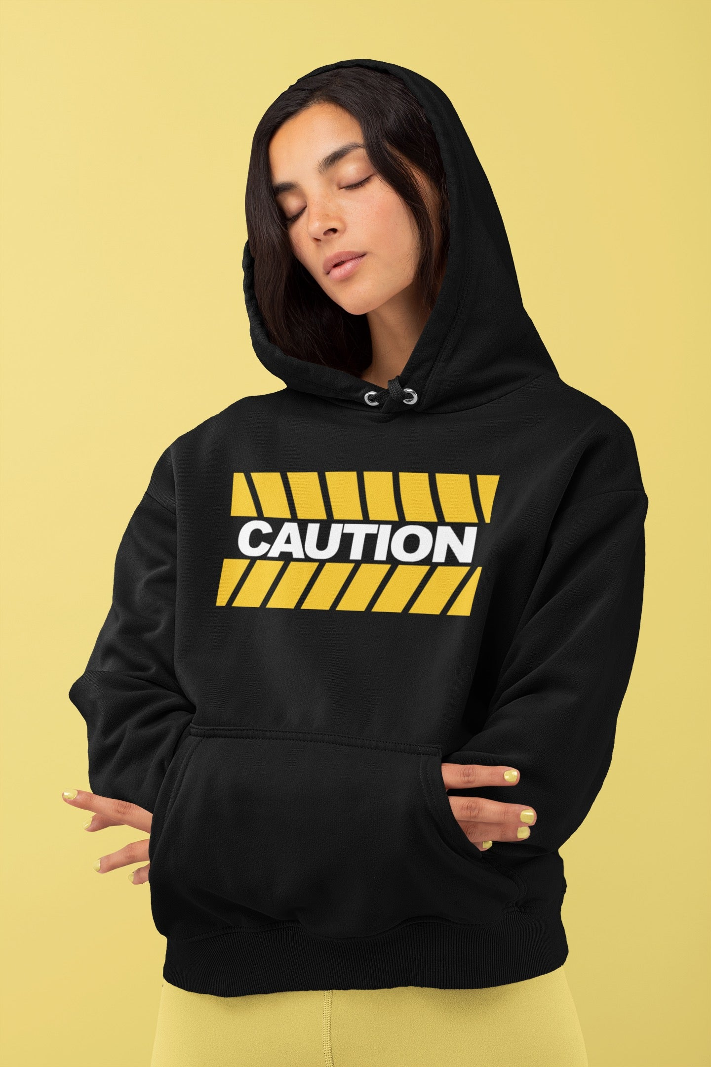 CAUTION It's Heavy Hoodie