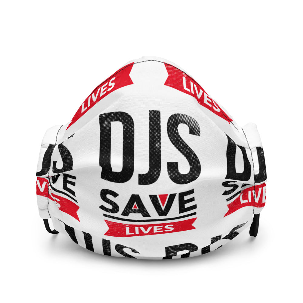 DJS SAVE LIVES Face Cover