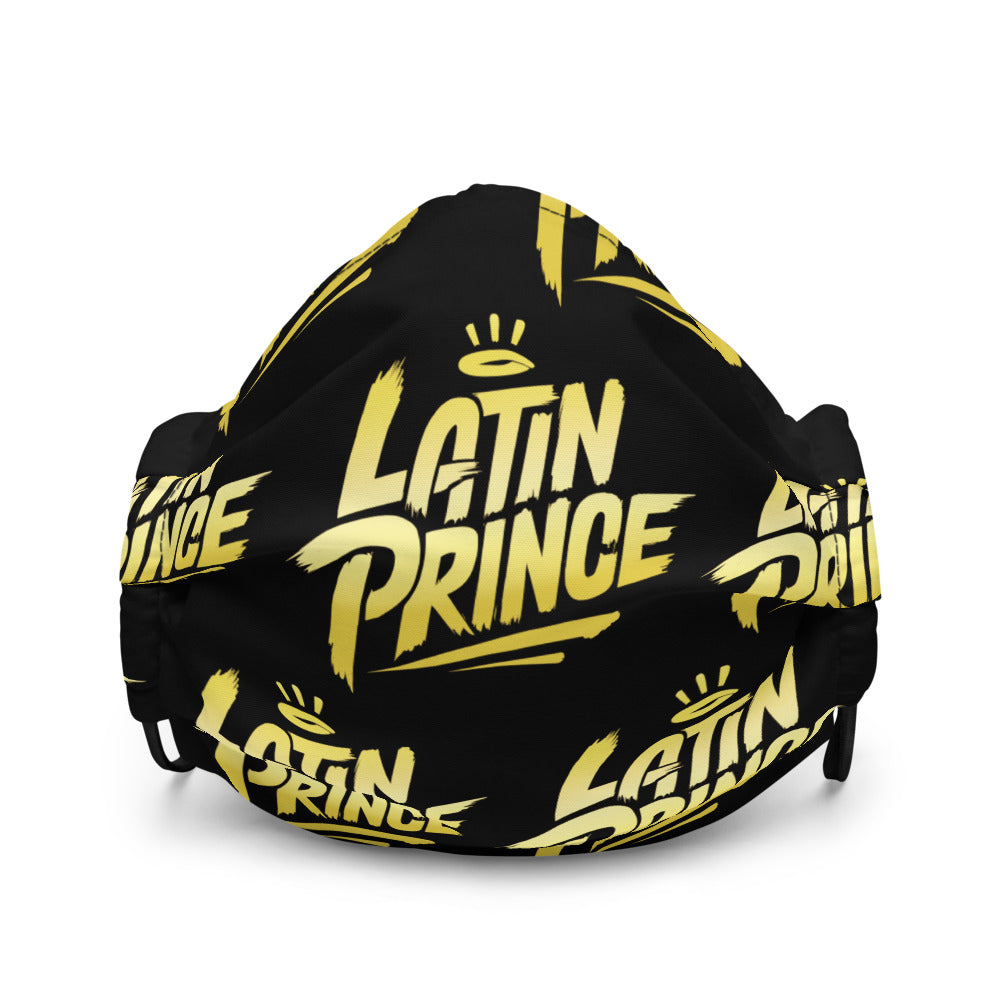 Latin Prince - Gold - Premium Face Cover