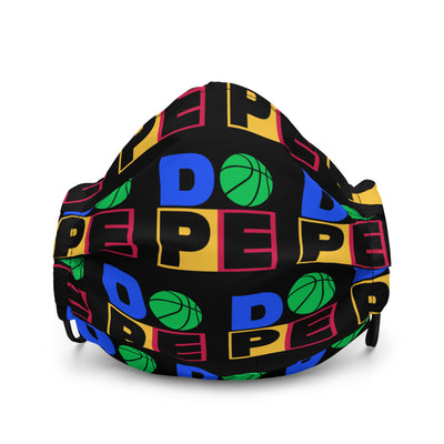 DOPE BASKETBALL - Premium Face Cover - Beats 4 Hope