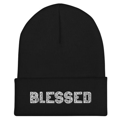 BLESSED Embroidered Cuffed Beanie - Beats 4 Hope