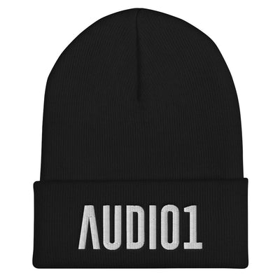AUDIO1 - Embroidered Cuffed Beanie - Beats 4 Hope