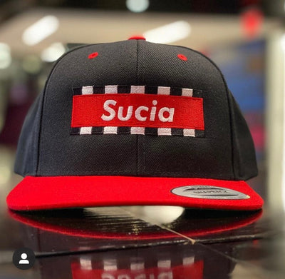 Sucia Red - Snapback Hat - Beats 4 Hope