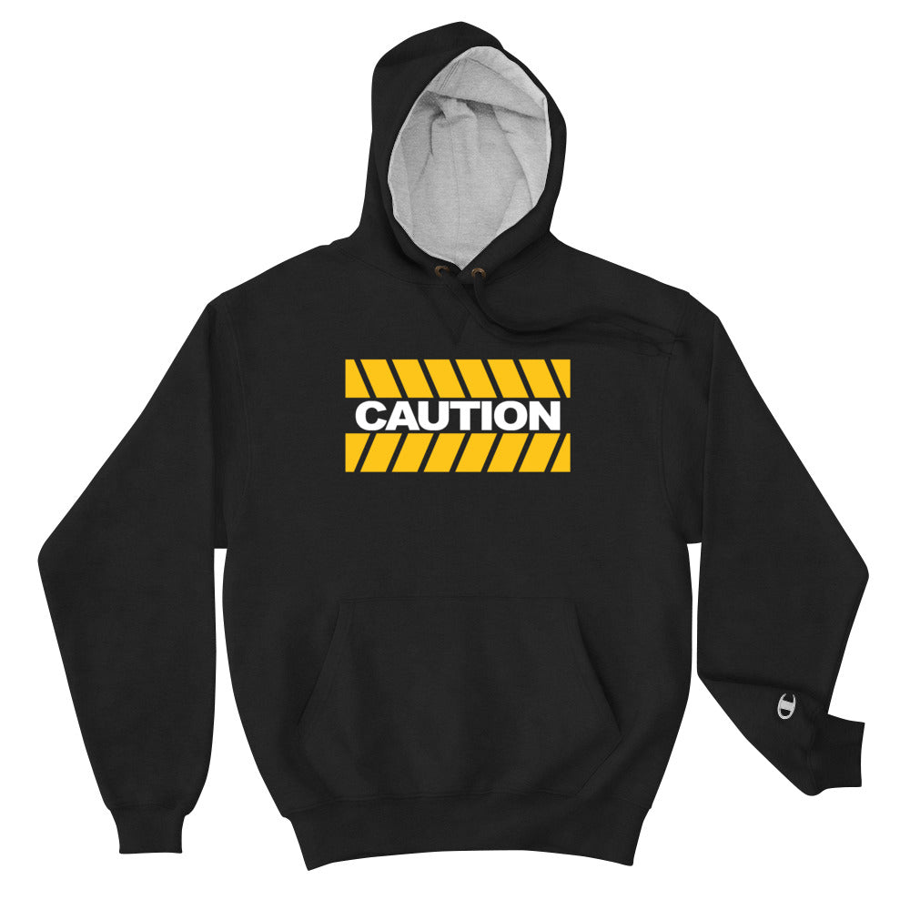 CAUTION It's Heavy Champion Hoodie - Beats 4 Hope