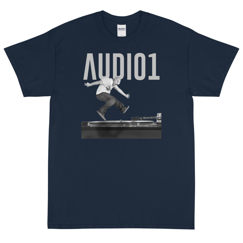 AUDIO1 ON THE ONE Men's X  T-Shirt