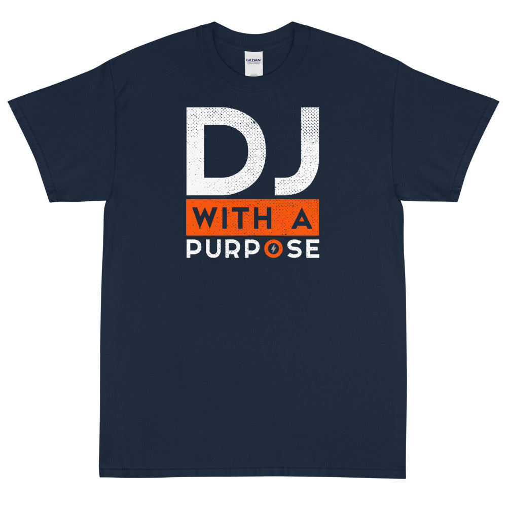 DJ WITH A PURPOSE Men's X T-Shirt