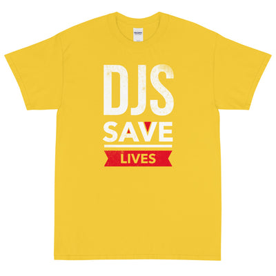 DJS SAVE LIVES Men's X T-Shirt - Beats 4 Hope