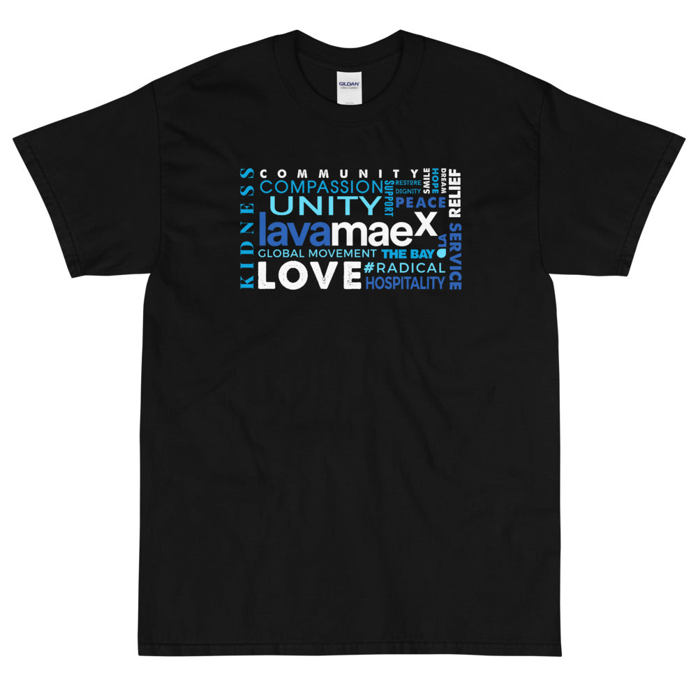 Lava MaeX - The Definition Men's X T-Shirt - Beats 4 Hope