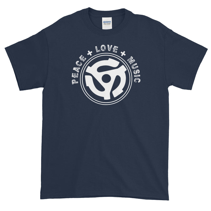 PEACE LOVE MUSIC T-SHIRT X