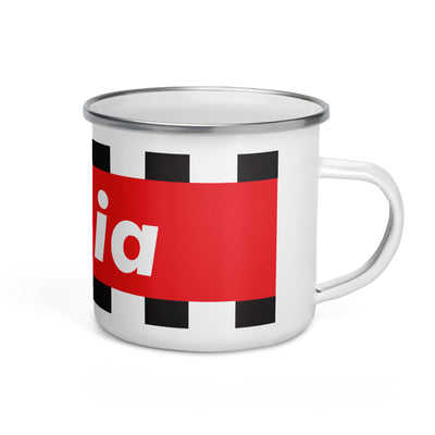 SUCIA RACING RED Enamel Mug - Beats 4 Hope