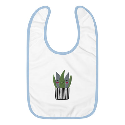BABY PLANT 1 - Embroidered Baby Bib - Beats 4 Hope