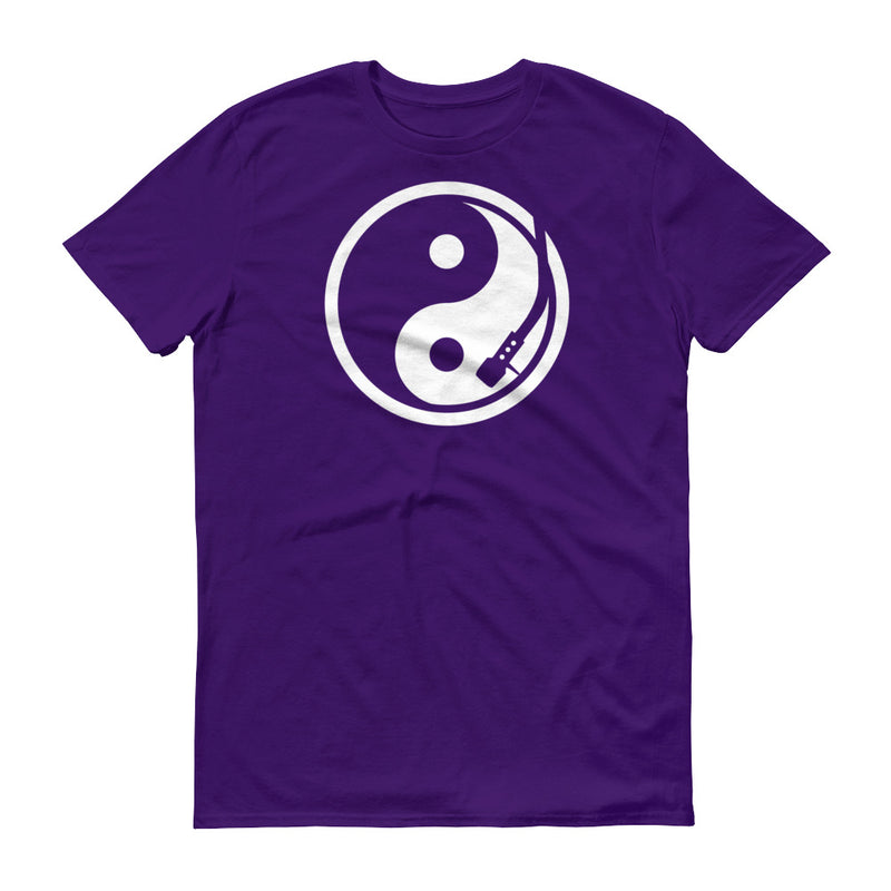 YIN AND YANG PURPLE TURNTABLE T-Shirt - Beats 4 Hope