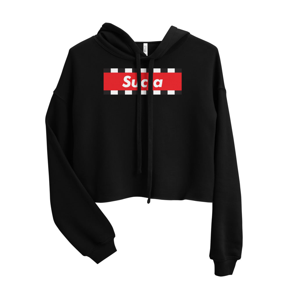 SUCIA RED Crop Hoodie - Beats 4 Hope
