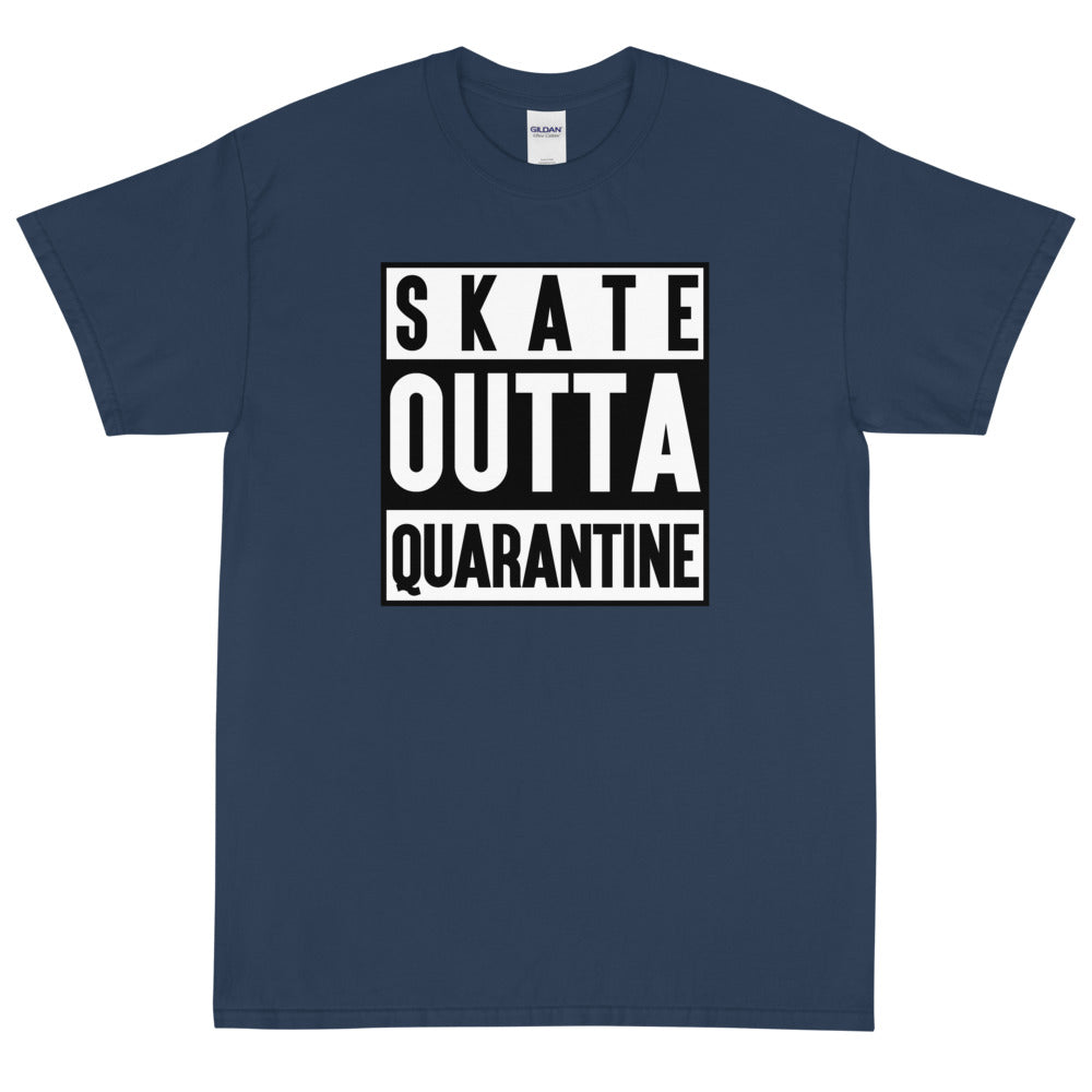 SKATE OUTTA QUARANTINE Men's X T-Shirt