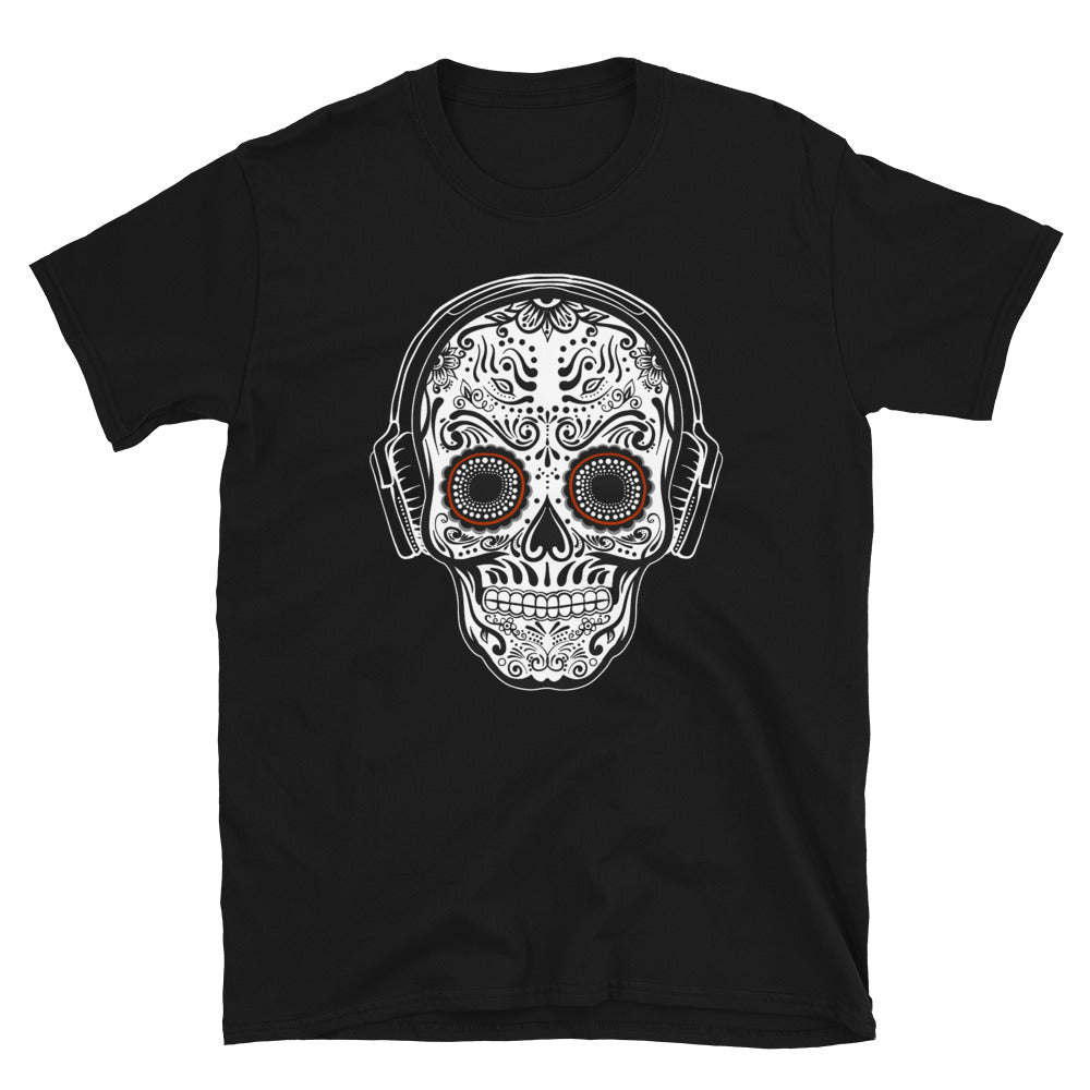 SUGAR SKULL BEATS Unisex T-Shirt - Beats 4 Hope