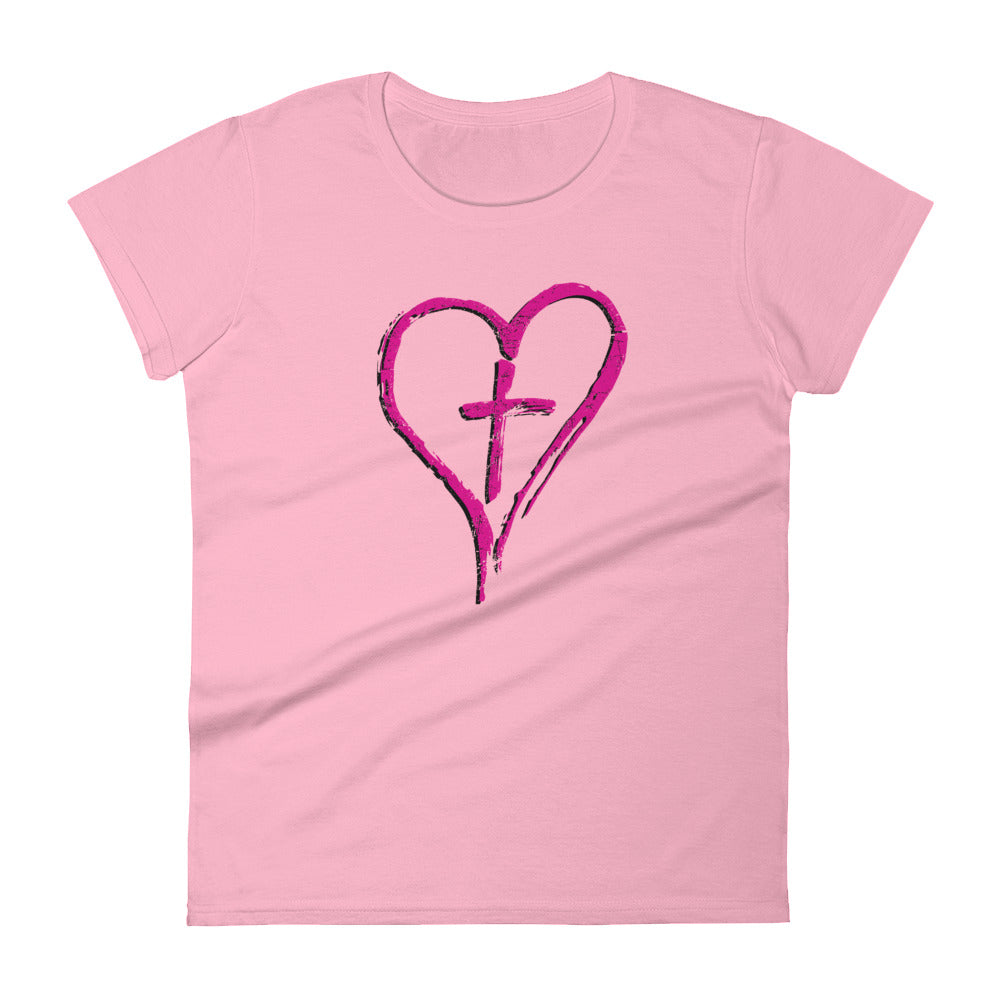 CROSS MY HEART Women's Cut T-Shirt