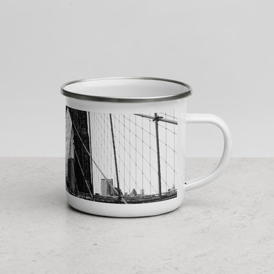 BROOKLYN BRIDGE - Enamel Mug - Beats 4 Hope
