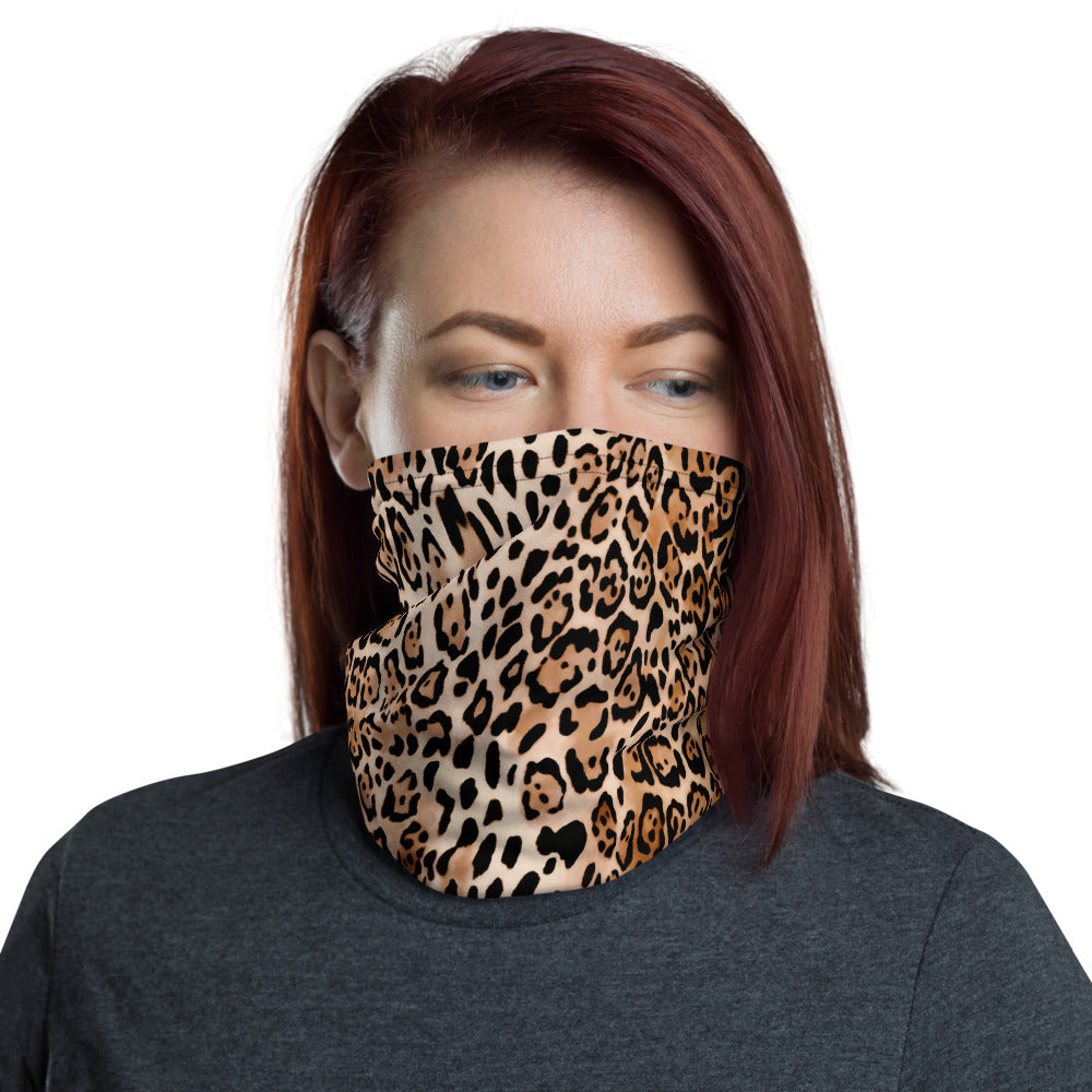 LEOPARD Neck Gaiter - Beats 4 Hope