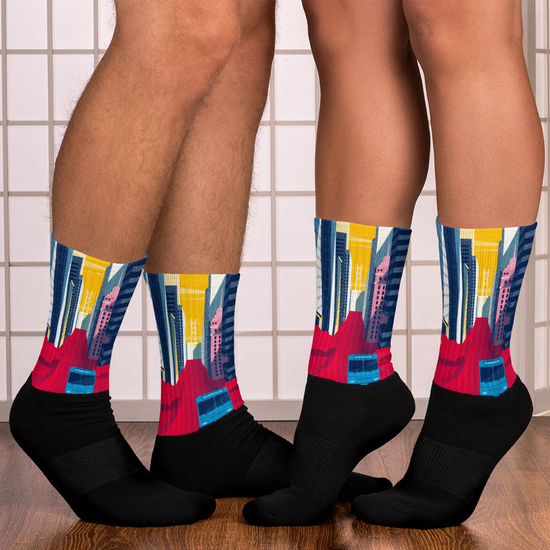 LavaMaeX The Sunset Socks