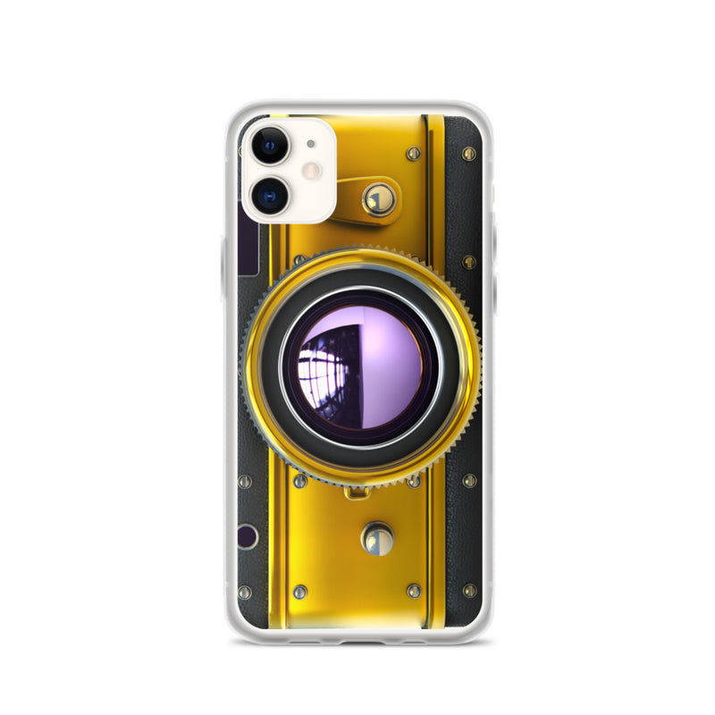 VINTAGE GOLD CAMERA iPhone Case & Cover