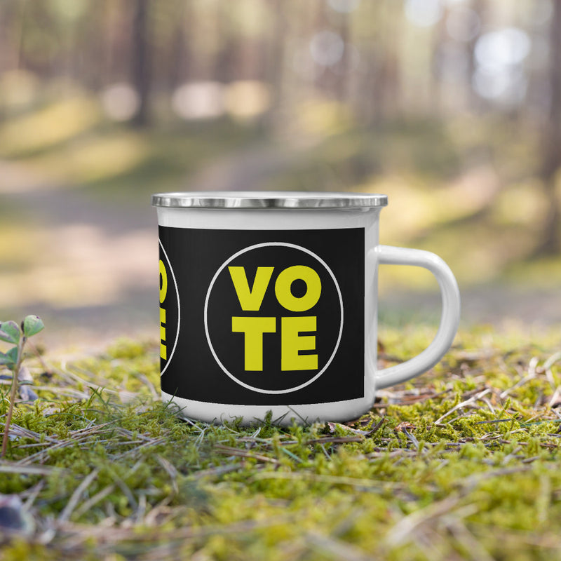 VOTE Enamel Mug - Beats 4 Hope
