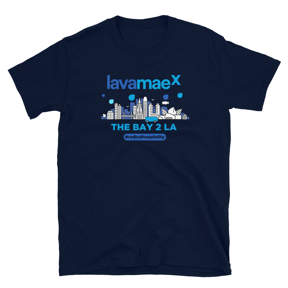 Lava Mae X BAY TO LA T-Shirt