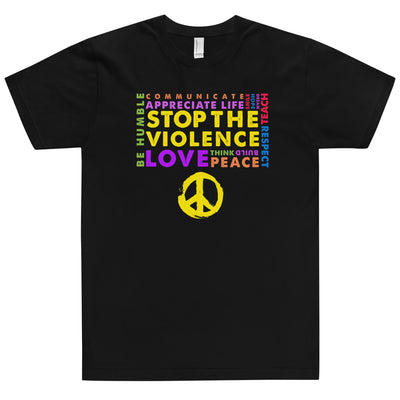 STOP THE VIOLENCE Yellow T-Shirt - Beats 4 Hope