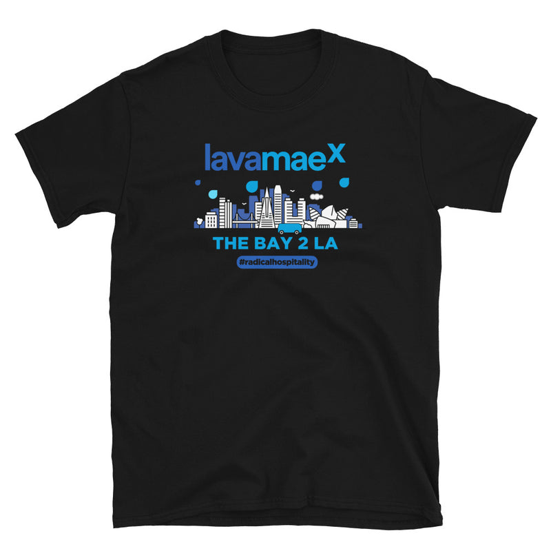 Lava Mae X BAY TO LA T-Shirt - Beats 4 Hope