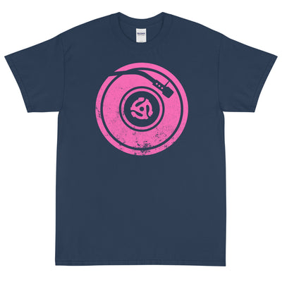 TURNTABLE THINK PINK Men's X T-Shirt - Beats 4 Hope