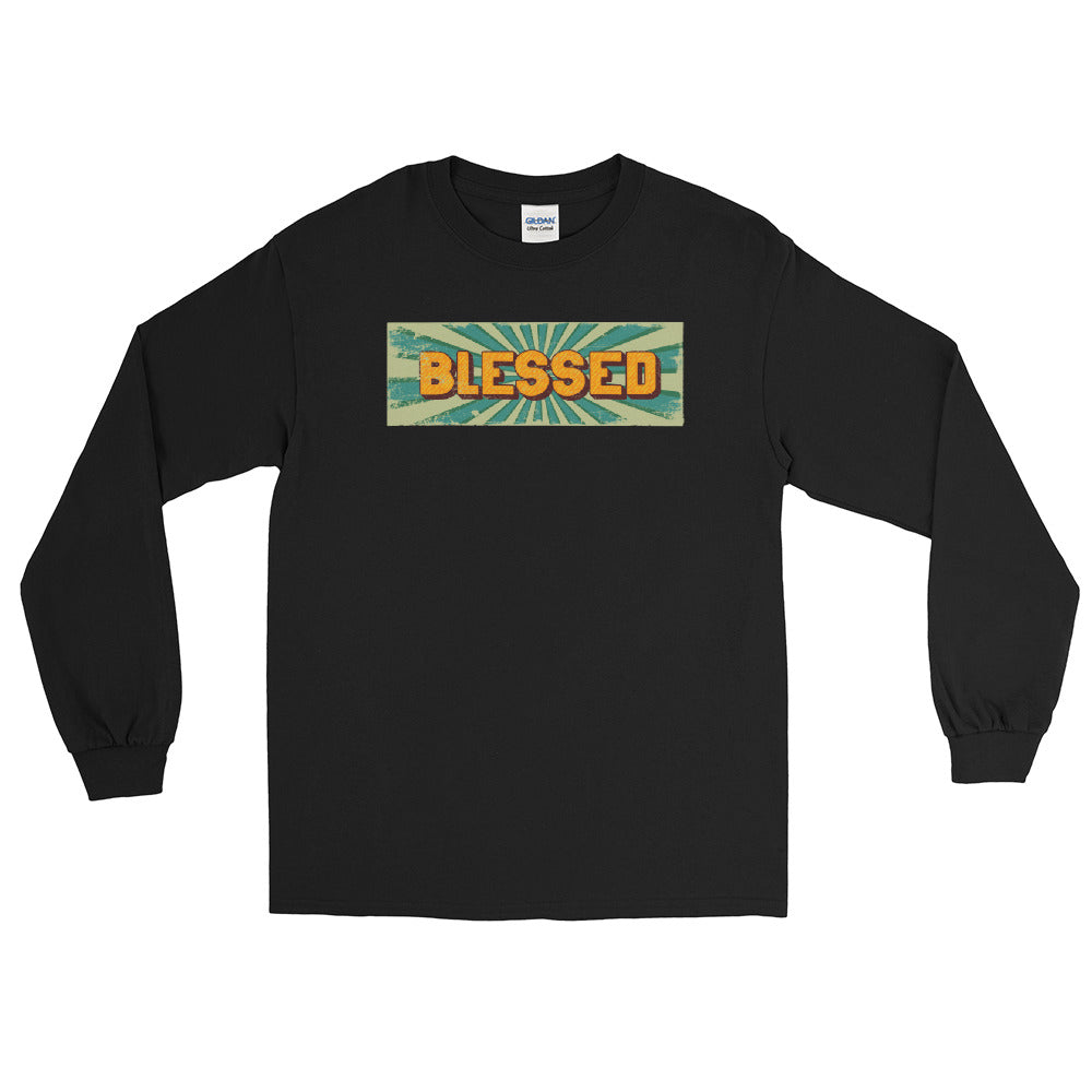 BLESSED - Men's Long Sleeve Shirt