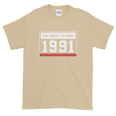 1991 THE CHOICE IS YOURS MEN'S X T-Shirt - Beats 4 Hope