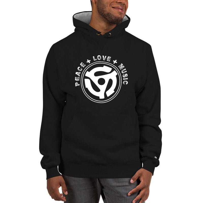 PEACE, LOVE & MUSIC - Champion Hoodie