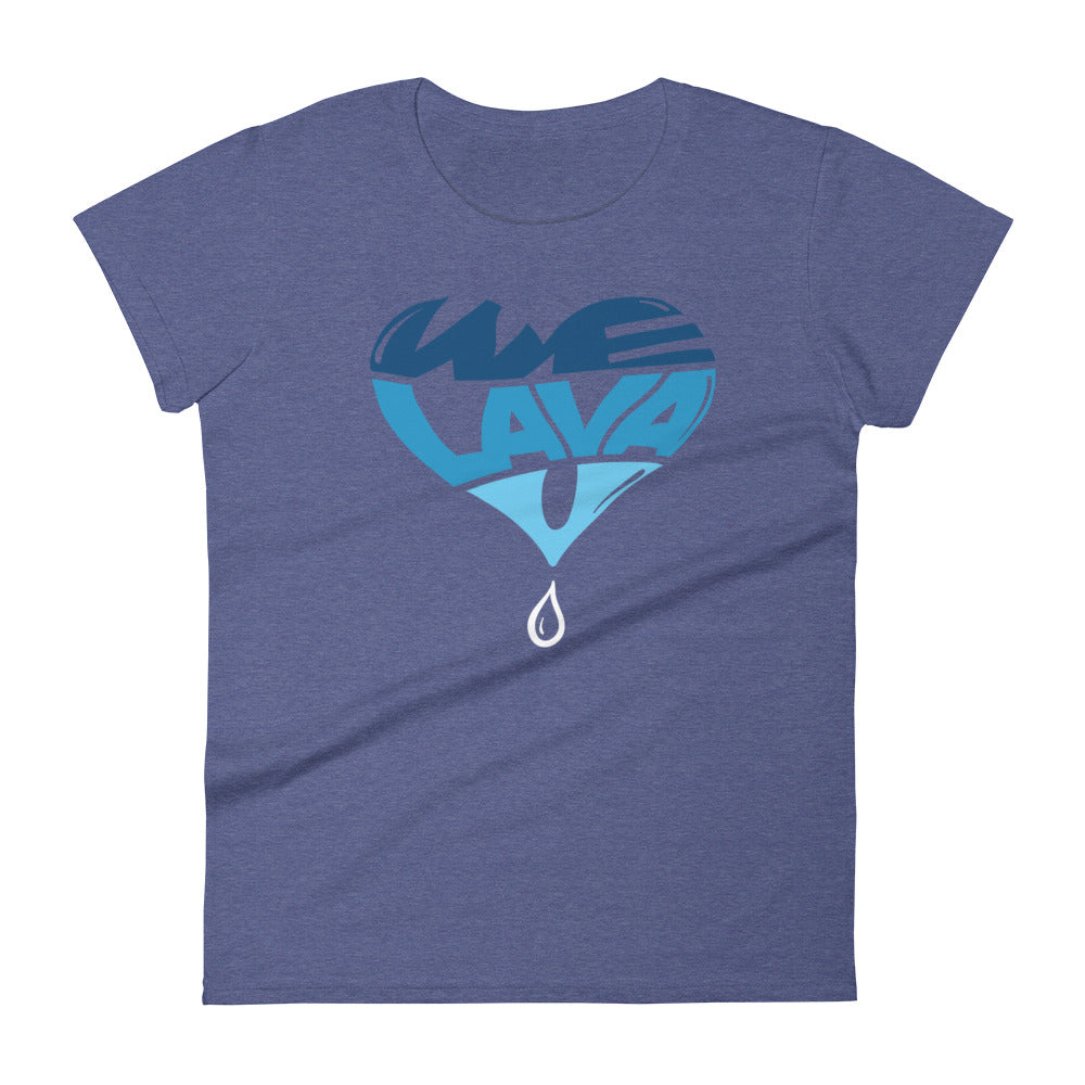LavaMaeˣ WE LAVA U Women's T-Shirt - Beats 4 Hope