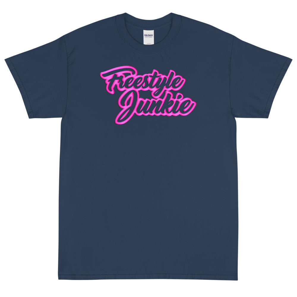 FREESTYLE JUNKIE PINK Men's X T-Shirt LIMITED EDITION