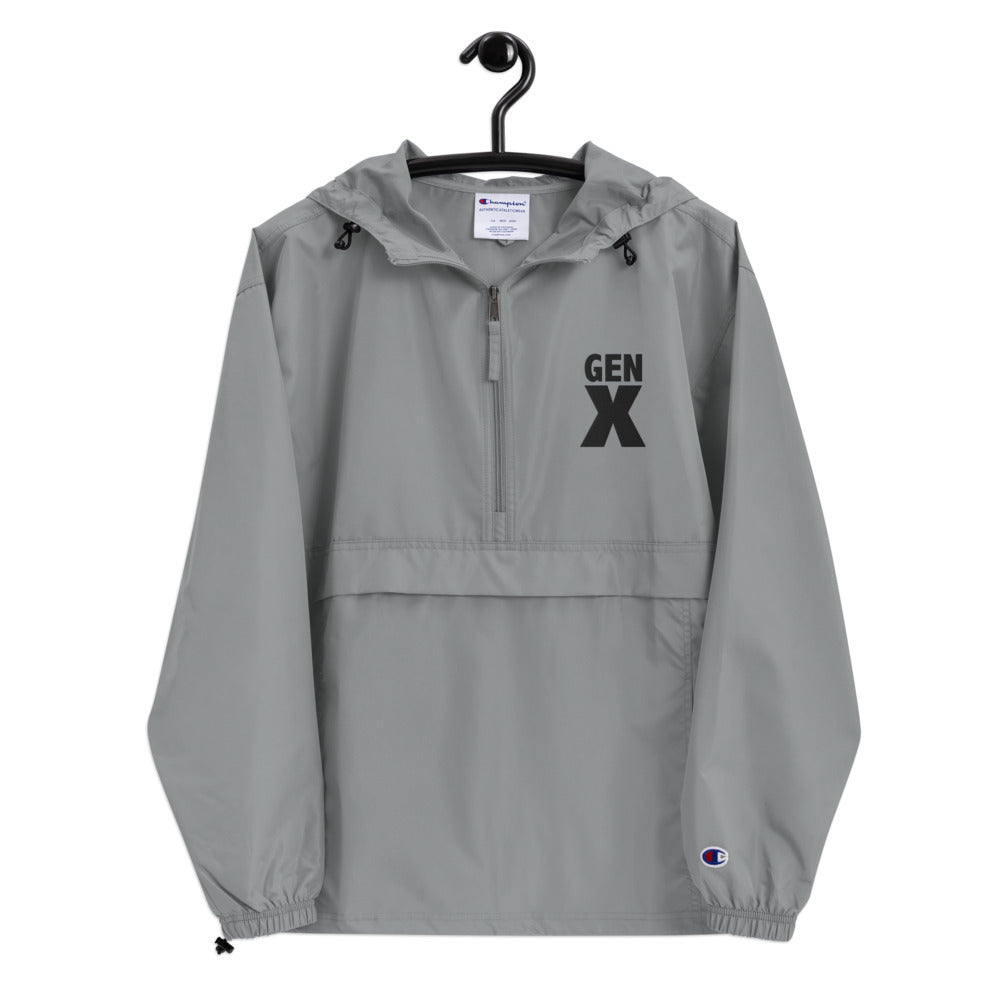 GEN X Embroidered Champion Packable Jacket