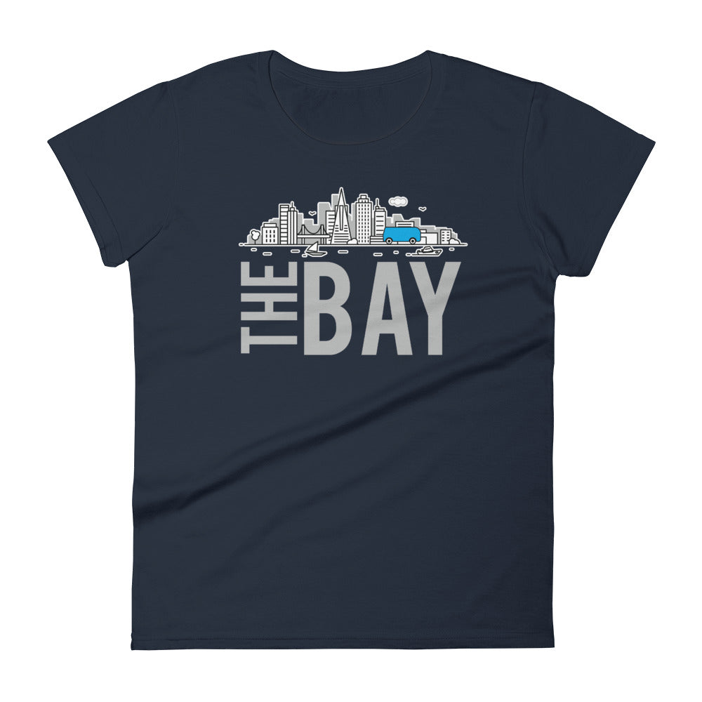 LavaMaeˣ The Bay Women's T-Shirt - Beats 4 Hope