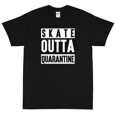 SKATE OUTTA QUARANTINE Men's X T-Shirt - Beats 4 Hope