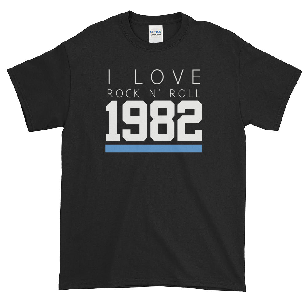 1982 I LOVE ROCK AND ROLL T-SHIRT - Beats 4 Hope