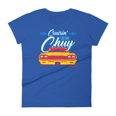 CRUISIN' WITH CHUY PALOMA - Women's T-Shirt - Beats 4 Hope