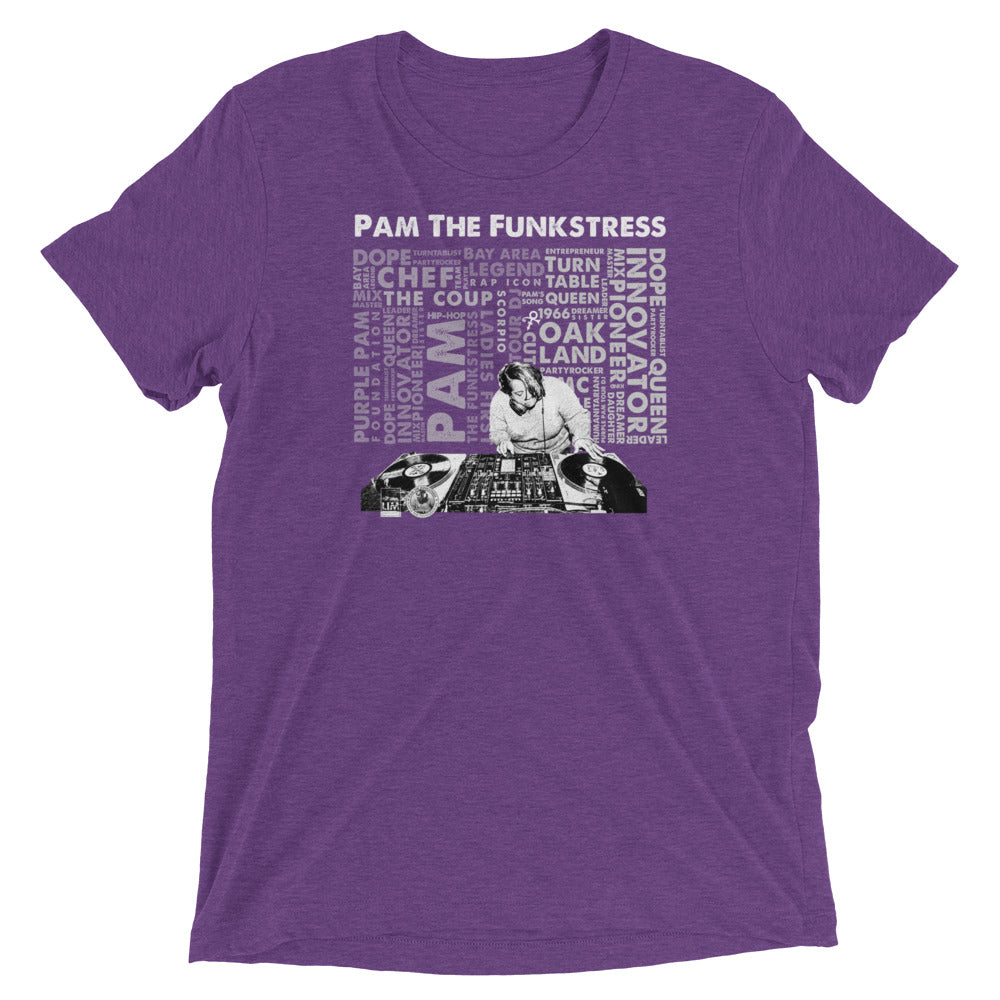 Pam The Funkstress Purple Pam T-Shirt - Beats 4 Hope