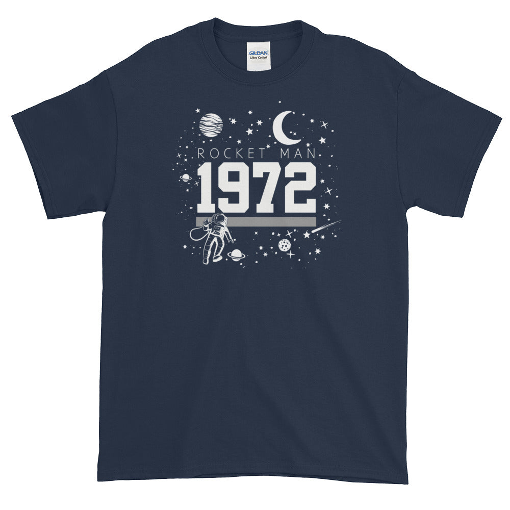 1972 ROCKETMAN Men's X T-Shirt - Beats 4 Hope