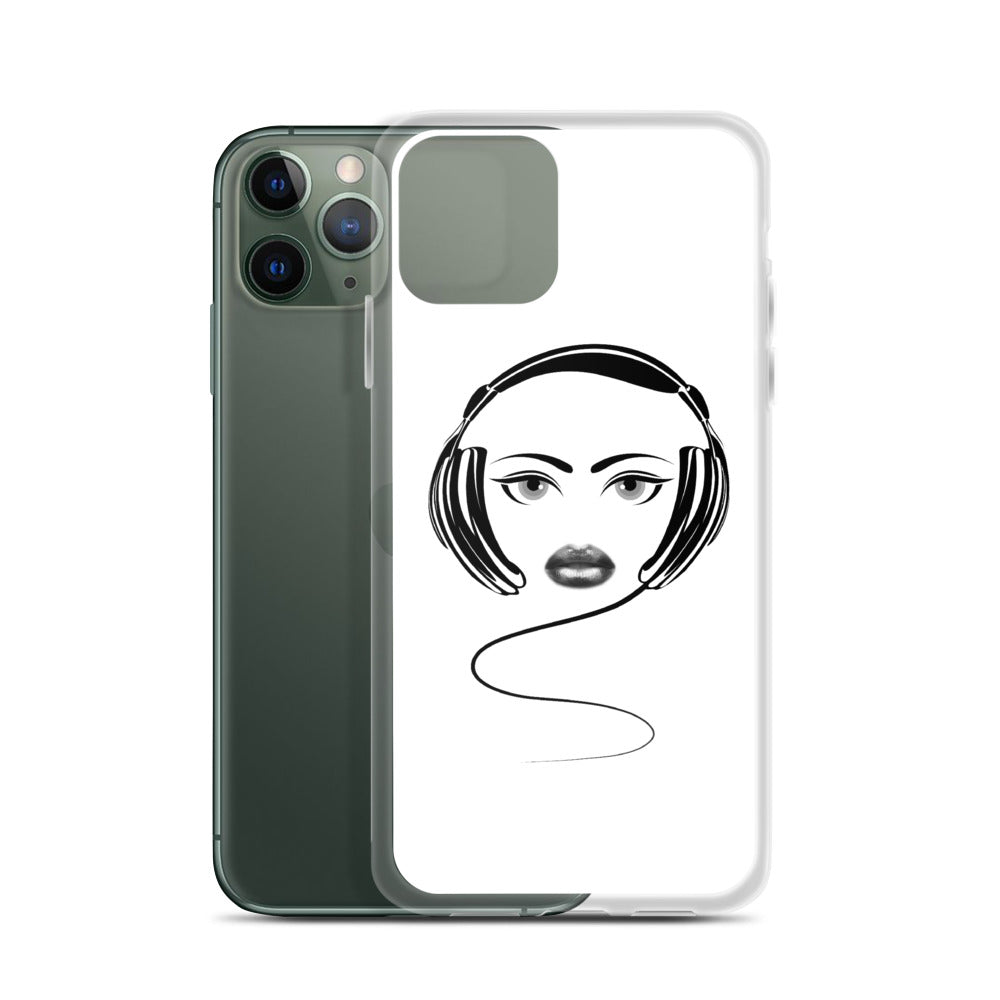 LADY DJ - iPhone Case