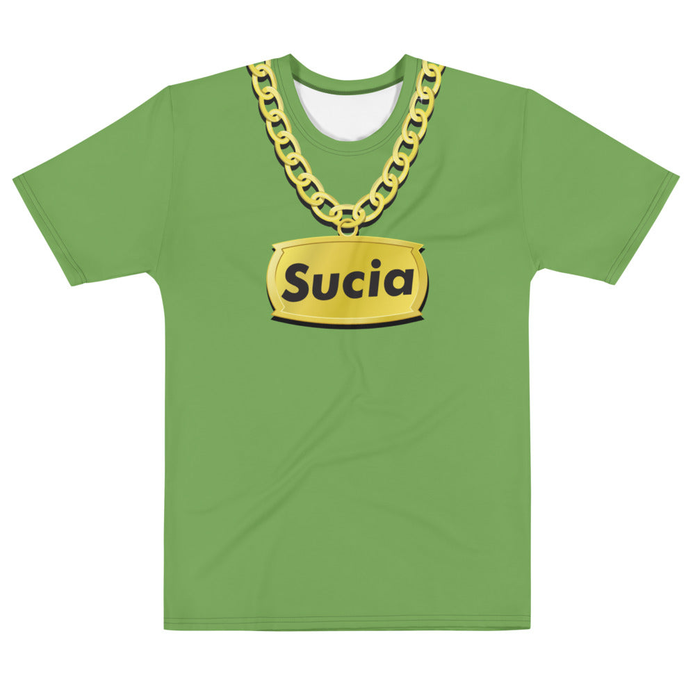 SUCIA BLING GREEN - Men's T-shirt - Beats 4 Hope