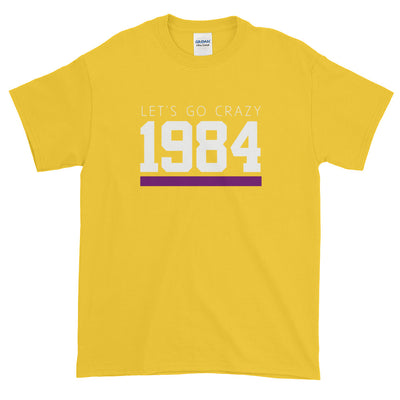 1984 LET'S GO CRAZY MEN'S T-SHIRT - Beats 4 Hope