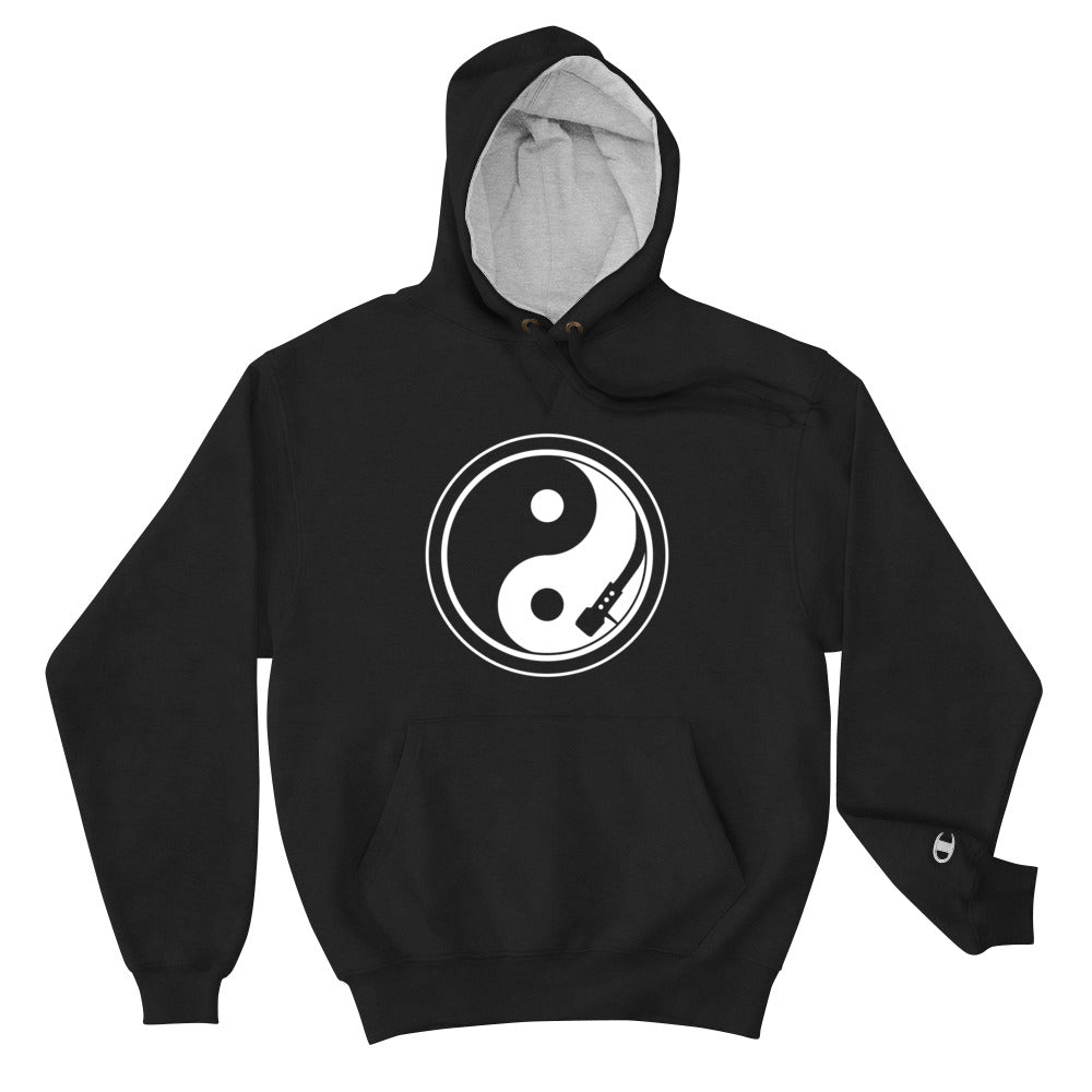 Yin and Yang Turntable Champion Hoodie - Beats 4 Hope