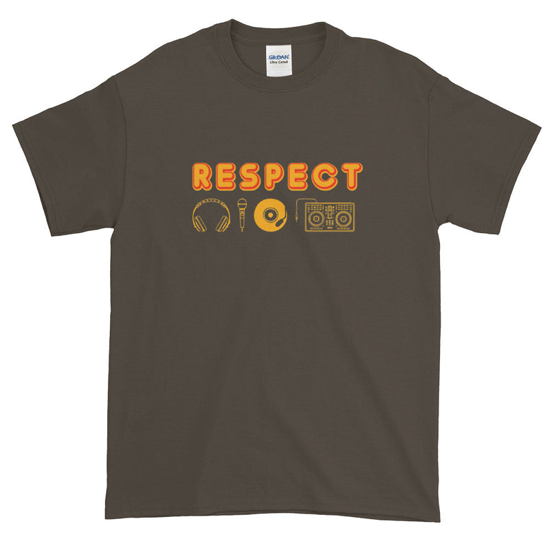 RESPECT THE DJ MEN'S T-SHIRT - Beats 4 Hope