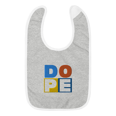 DOPE Embroidered Baby Bib - Beats 4 Hope
